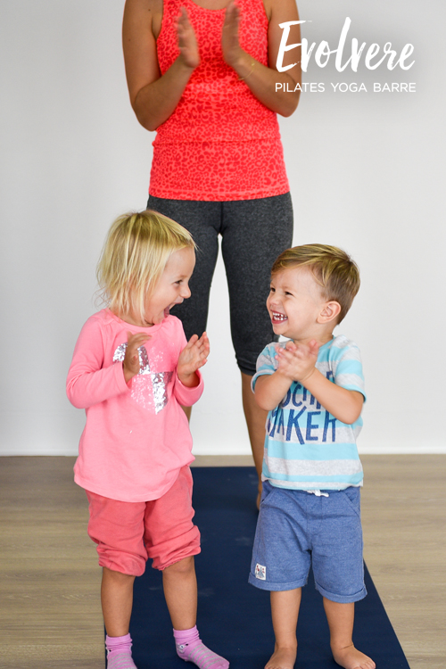 Kids: Crawlers and Early Walkers Yoga