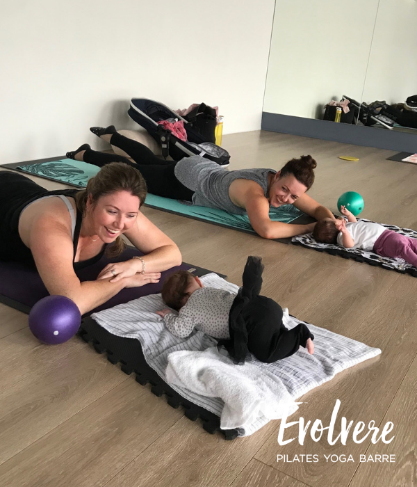 Baby & Me Barre at Evolvere in Lane Cove