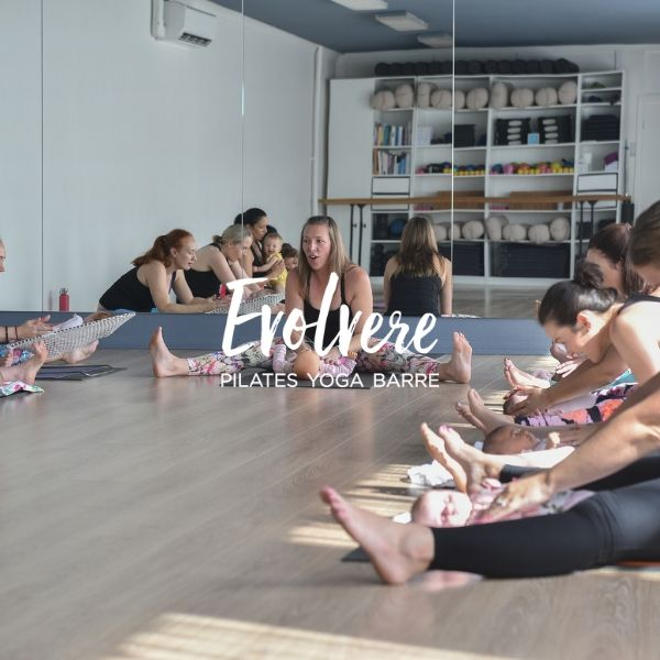 Baby Yoga at Evolvere in Lane Cove Sydney North Shore