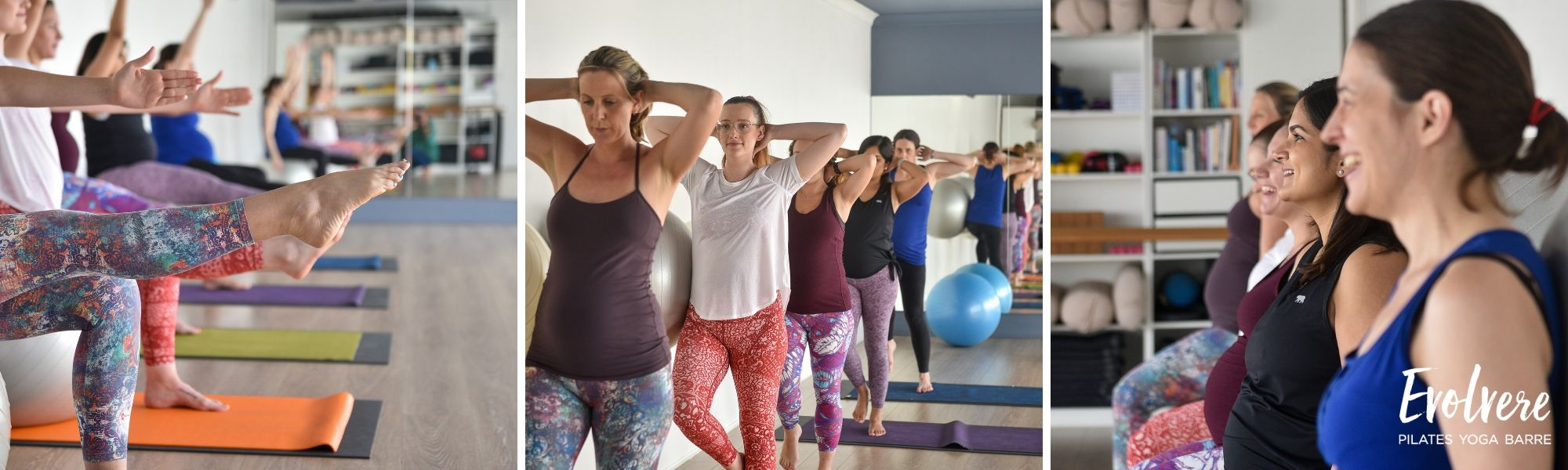Pilates for pregnancy pelvic floor strength and stability at Evolvere in Lane Cove