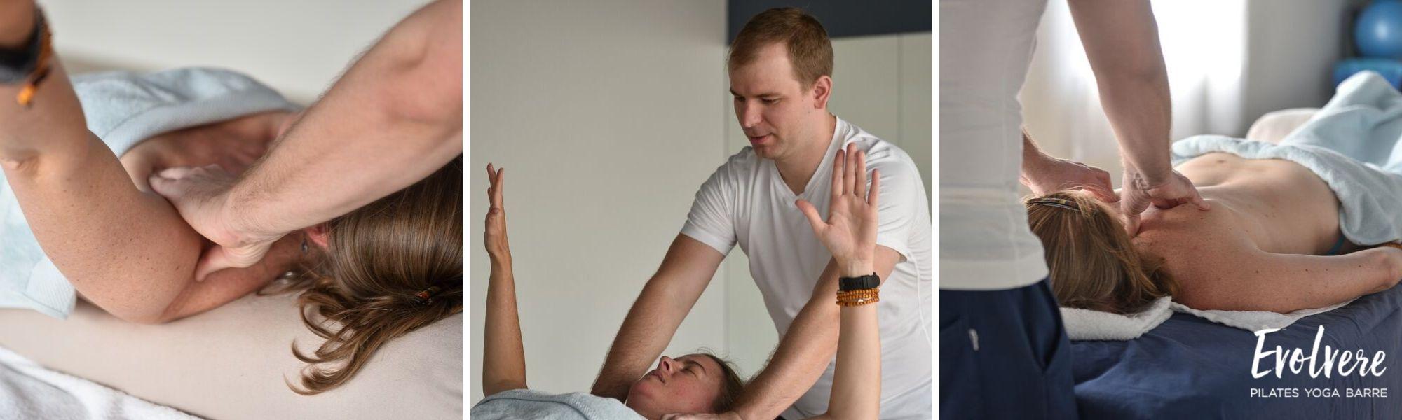 Sports Remedial Massage in Lane Cove at Evolvere Pilates studio
