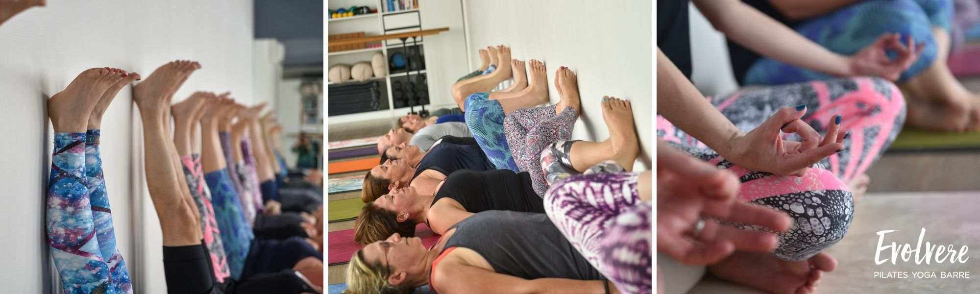 Relaxing Gentle Yoga to restore and rebalance at Evolvere in Lane Cove