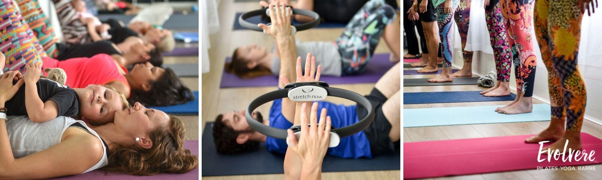 Timetable of Barre classes in Lane Cove at Evolvere Pilates Yoga Barre studio